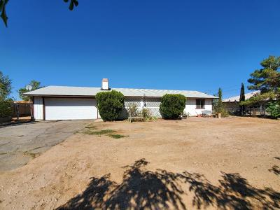 Hesperia Single Family Home For Sale: 16576 Eucalyptus Street