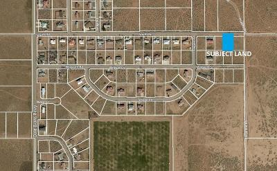 Apple Valley CA Residential Lots & Land For Sale: $16,000
