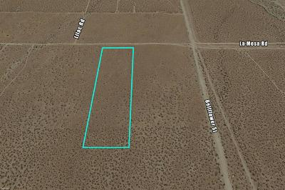 Victorville CA Residential Lots & Land For Sale: $199,000