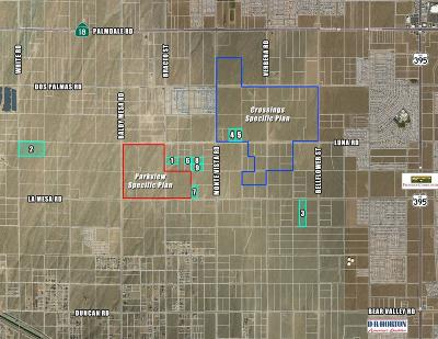 Victorville CA Residential Lots & Land For Sale: $994,000