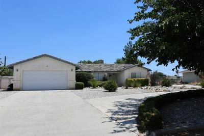 Apple Valley Single Family Home For Sale: 21111 Malibu Road