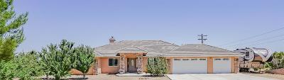 Pinon Hills Single Family Home For Sale: 1878 Vista Road