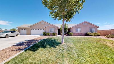 Apple Valley Single Family Home For Sale: 21292 Cask Court
