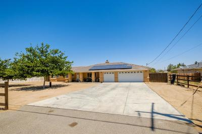 Hesperia Single Family Home For Sale: 15026 Pendleton Street