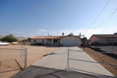Hesperia Single Family Home For Sale: 18673 Westlawn Street