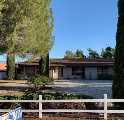 Hesperia Single Family Home For Sale: 16885 Palm Street