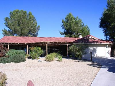 Apple Valley Single Family Home For Sale: 14455 Havasu Road