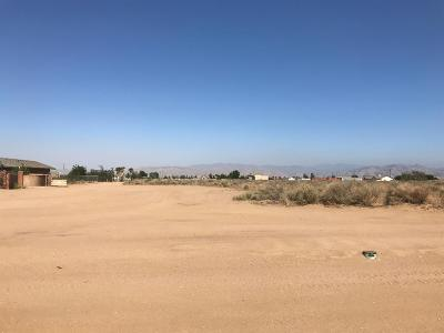 Hesperia CA Residential Lots & Land For Sale: $94,000
