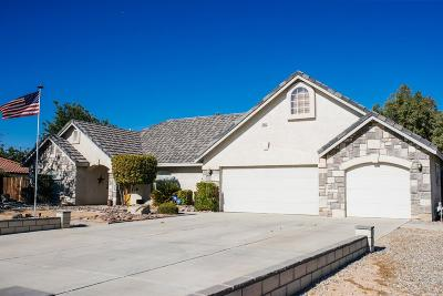 Apple Valley CA Single Family Home For Sale: $385,000