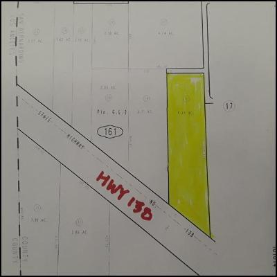 Pinon Hills Residential Lots & Land For Sale: Hwy 138
