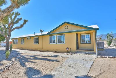 Pinon Hills Single Family Home For Sale: 333 Joshua Hills Road