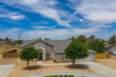 Apple Valley Single Family Home For Sale: 20811 Sholic Road