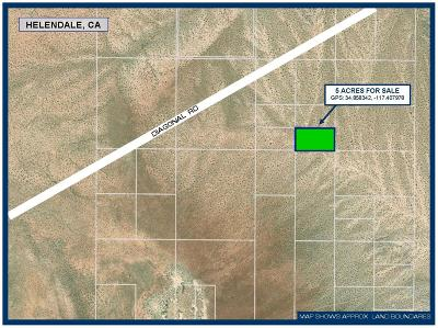 Helendale Residential Lots & Land For Sale: Near Diagonal Road