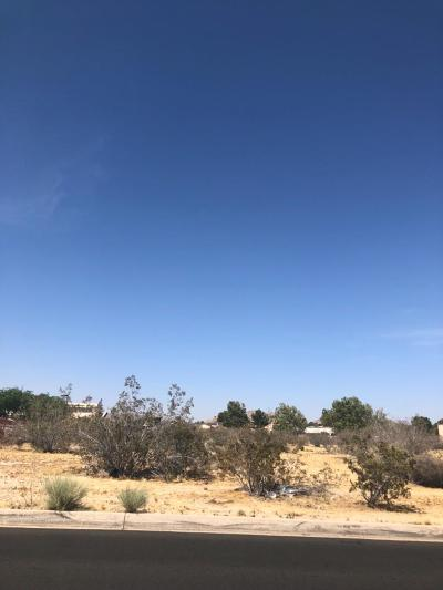 Apple Valley CA Commercial Lots & Land For Sale: $79,900