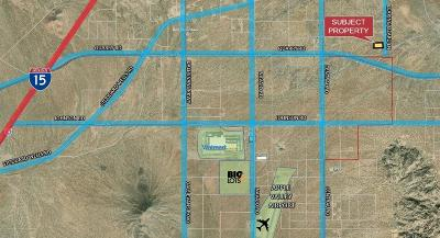 Apple Valley CA Residential Lots & Land For Sale: $55,000