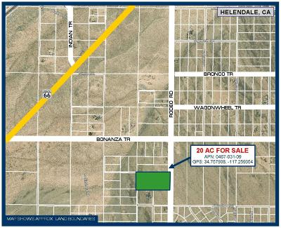 Helendale Residential Lots & Land For Sale: Rodeo Road