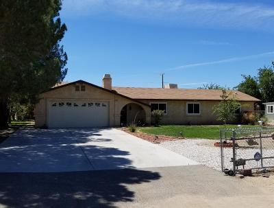 Victorville Single Family Home For Sale: 14563 Maricopa Road #A
