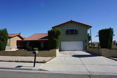 Barstow Single Family Home For Sale: 641 Candlelight Street
