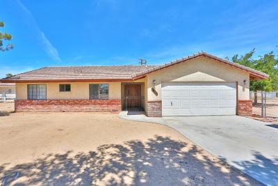 Apple Valley Single Family Home For Sale: 12490 Tamiani Road