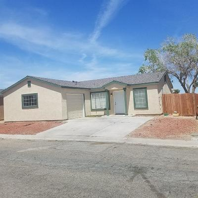 Barstow Single Family Home For Sale: 25076 Camino Del Norte Street