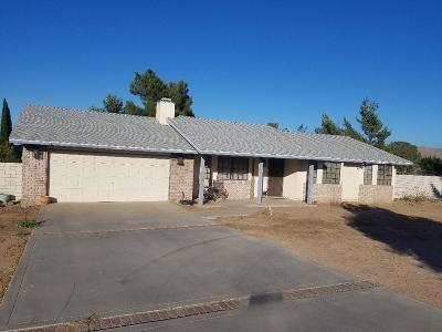 Hesperia Single Family Home For Sale: 7685 Madera Avenue