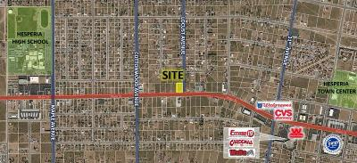 Hesperia CA Commercial Lots & Land For Sale: $485,000