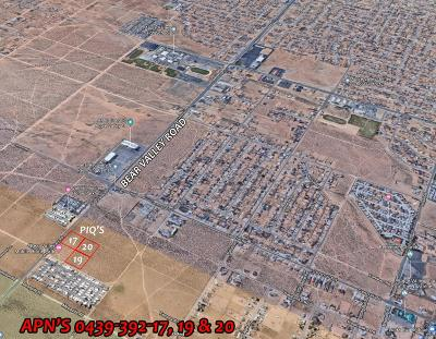 Apple Valley CA Commercial Lots & Land For Sale: $750,000