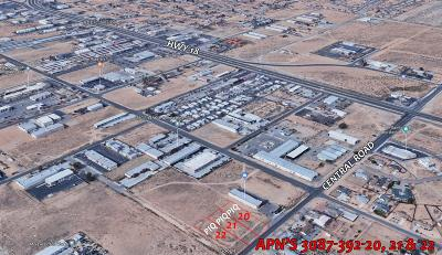 Apple Valley Commercial Lots & Land For Sale: Central Road