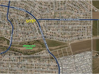 Hesperia CA Residential Lots & Land For Sale: $42,500