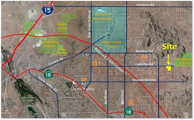 Apple Valley Residential Lots & Land For Sale: 24529 Cahuilla Road