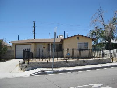 Barstow Single Family Home For Sale: 1580 Nancy Street