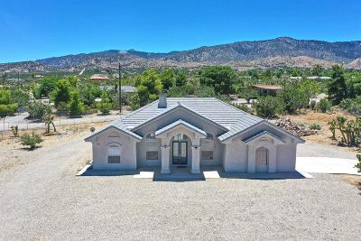 Pinon Hills Single Family Home For Sale: 9620 Wintergreen Road