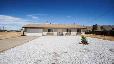 Apple Valley CA Single Family Home For Sale: $226,500