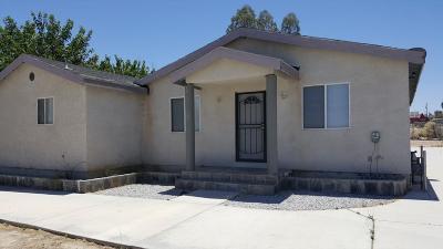 Barstow Single Family Home For Sale: 25535 Jasper Road