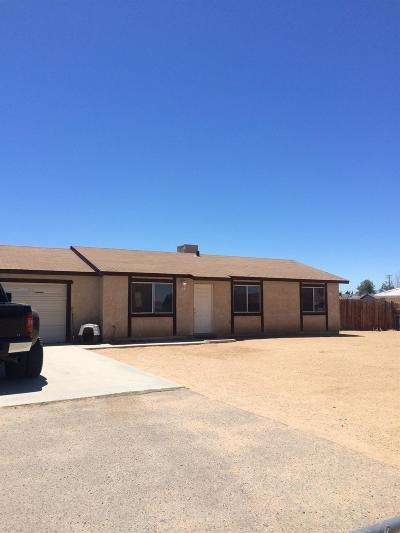 Apple Valley CA Single Family Home For Sale: $195,000