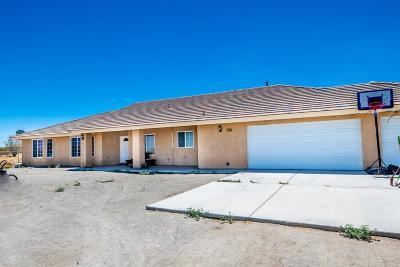 Pinon Hills Single Family Home For Sale: 1535 La Mesa Road