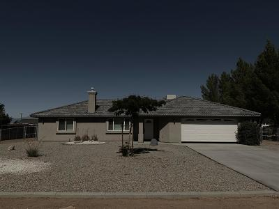 Apple Valley CA Single Family Home For Sale: $268,000