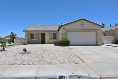 Adelanto Single Family Home For Sale: 15863 Desert Rock Street