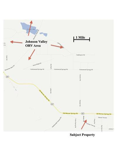 Lucerne Valley CA Residential Lots & Land For Sale: $5,900