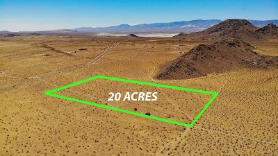 Lucerne Valley CA Residential Lots & Land For Sale: $22,500