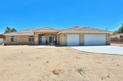 Hesperia Single Family Home For Sale: 18581 Westlawn Street