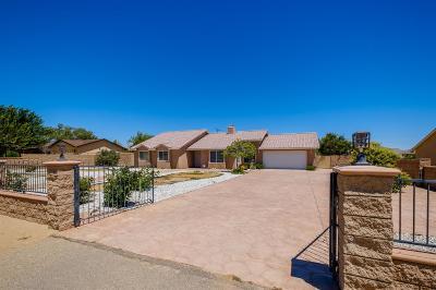 Victorville Single Family Home For Sale: 15146 Coalinga Road