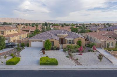 Apple Valley Single Family Home For Sale: 19235 Monterey Street