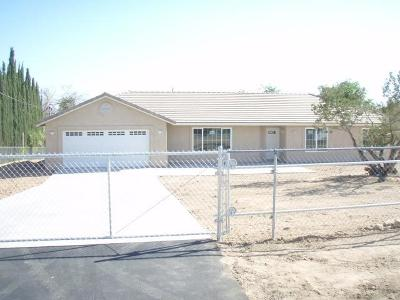 Hesperia Single Family Home For Sale: 16611 Sage Street