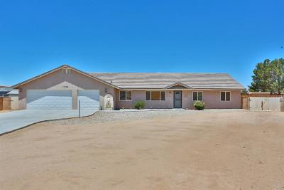 Apple Valley Single Family Home For Sale: 13954 Okesa Road