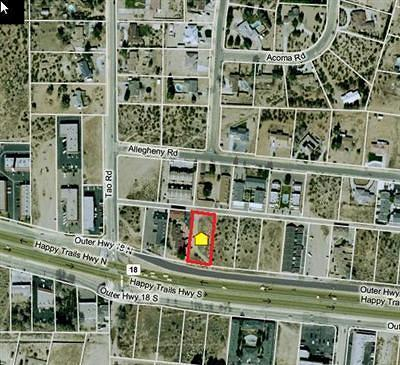 Apple Valley Residential Lots & Land For Sale: Outer Hwy 18 Highway