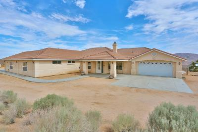 Apple Valley Single Family Home For Sale: 26370 Rancho Street