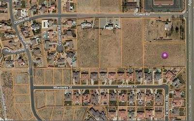 Apple Valley CA Residential Lots & Land For Sale: $320,000