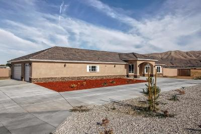 Apple Valley CA Single Family Home For Sale: $318,000
