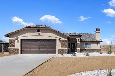 Apple Valley Single Family Home For Sale: 13626 Pauhaska Road